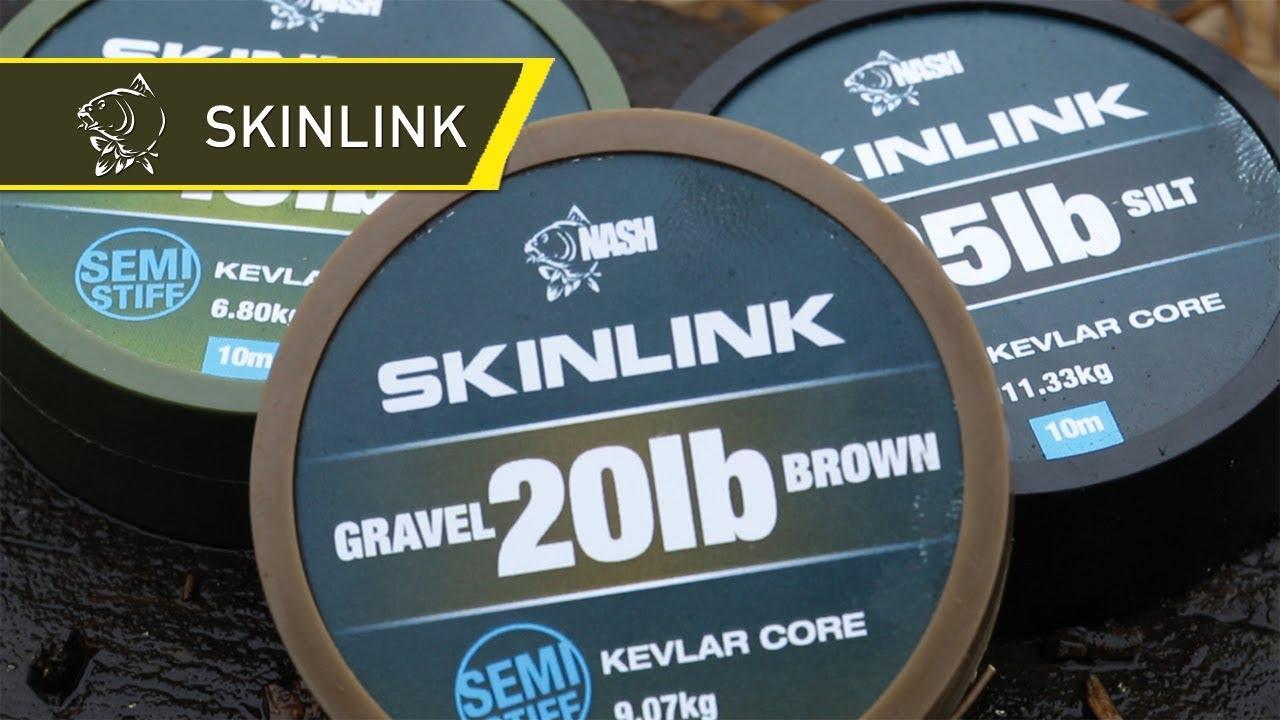 Nash Tackle Skinlink Semi Stiff Влакно за повод 10м