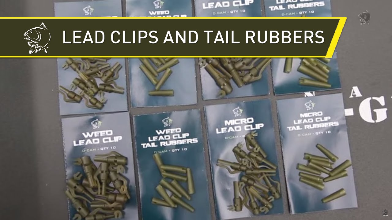 Nash Tackle Weed Lead Clip Tail Rubber