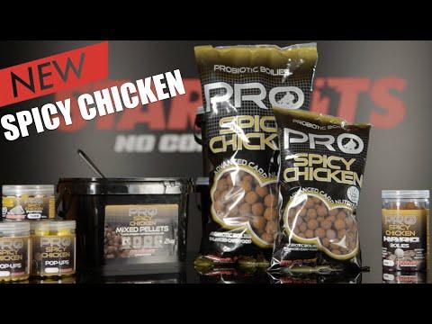 Starbaits Boilies Spicy Chicken Протеинови топчета 1 кг