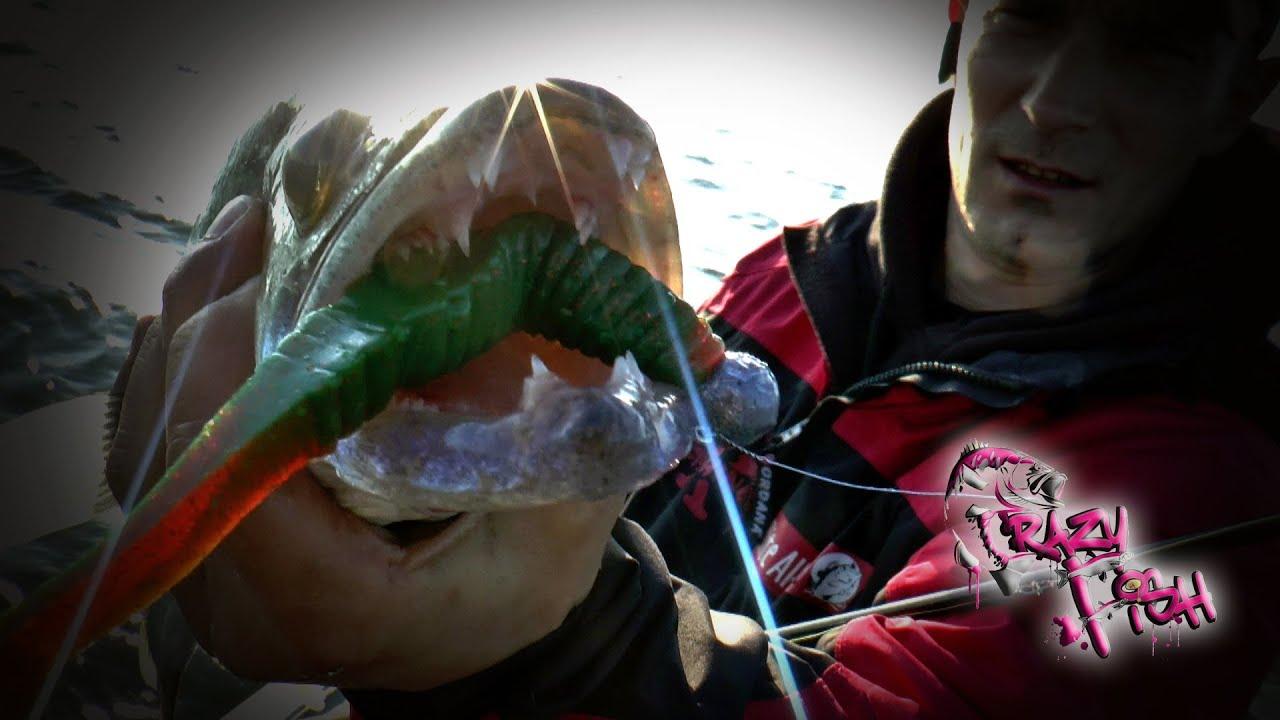 Crazy Fish Scalp Minnow 10см Силиконова примамка
