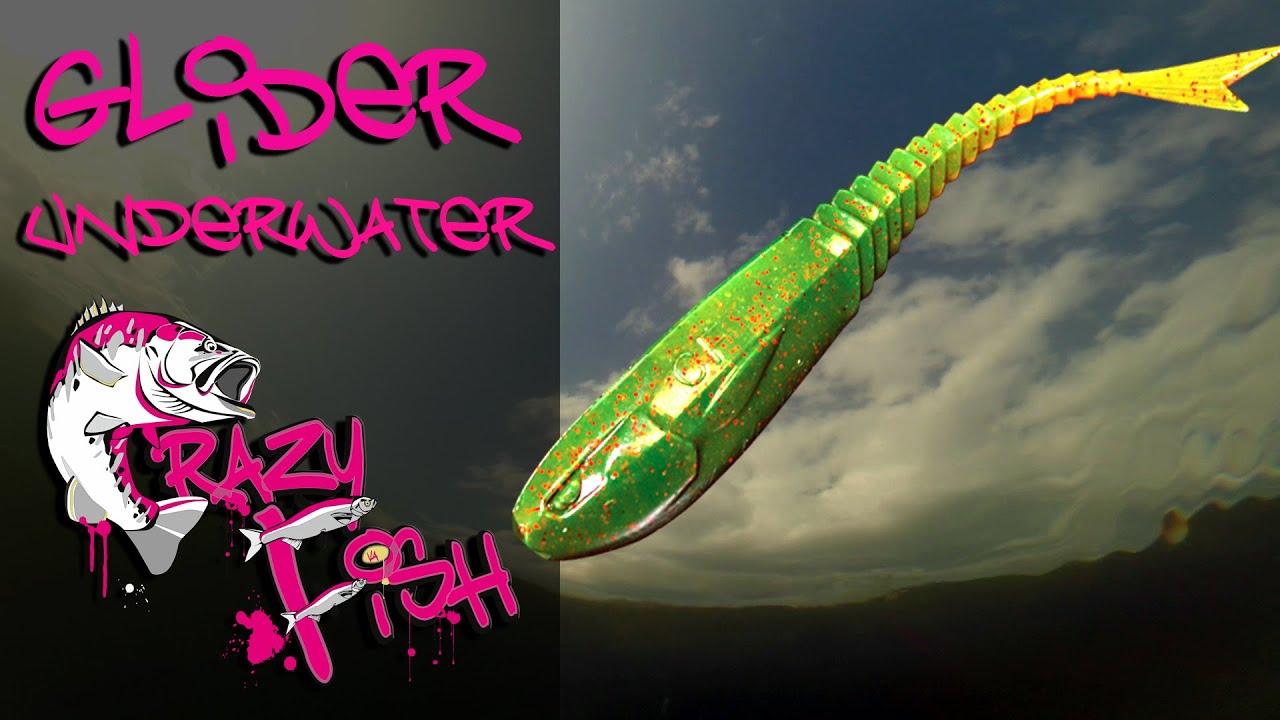 Crazy Fish Glider 9см Силиконова примамка