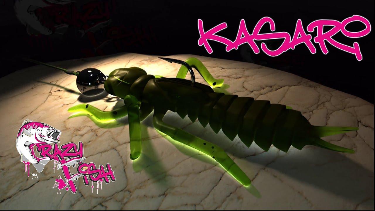 Crazy Fish Kasari 2.7см Силиконова примамка