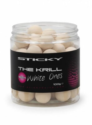 Sticky Baits The Krill Pop Ups White 100 гр Плуващи топчета