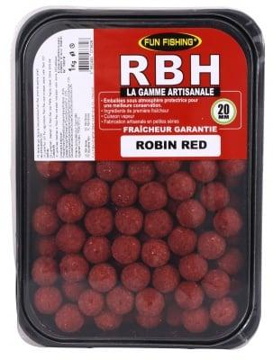 Fun Fishing RBH Boilies Robin Red 1kg Протеинови топчета