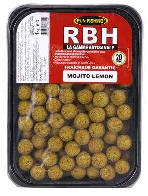 Fun Fishing RBH Boilies Mojito Lemon 1kg Протеинови топчета