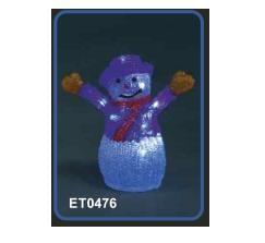 Акрилна фигура Снежен човек