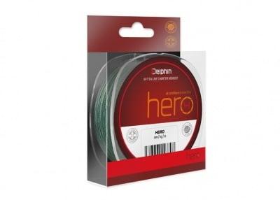 Delphin Hero Green Плетено влакно 300м