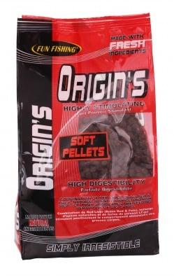 Fun Fishing Soft Pellets Origin's 5mm 700g Меки пелети