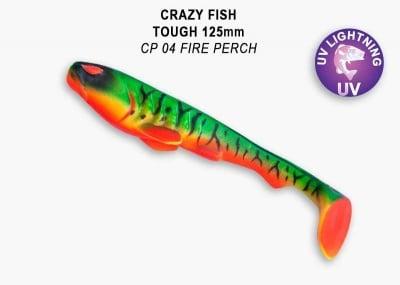Crazy Fish Tough 12.5 см Силиконова примамка