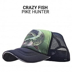 Crazy Fish Pike Hunter Cap Шапка