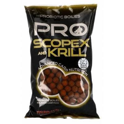 Starbaits Boilies Scopex Krill Протеинови топчета 1 кг