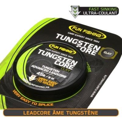Fun Fishing Leadcore  Tungsten Core 45lb 8m Лидкор