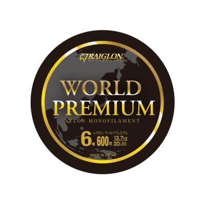 Raiglon World Premium Green Монофилно влакно 600 м