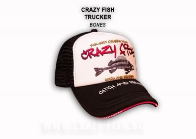 Crazy Fish Cap Fish Bones Шапка