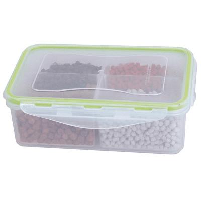 Fun Fishing Pellets Box Кутия с капак за пелети с 4 отделния