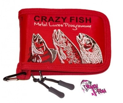 Crazy Fish Spoon Case 13х10х3см Класьор Червен