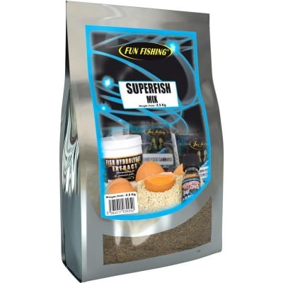 Fun Fishing Superfish Mix 2.5kg. Микс