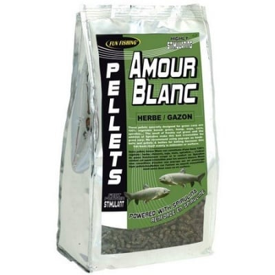 Fun Fishing Amour Blanc Pellets Пелети за Амур