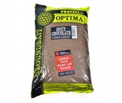 Profess Optima Spicy Chocolate Захранка Пикантен Шоколад  1 кг