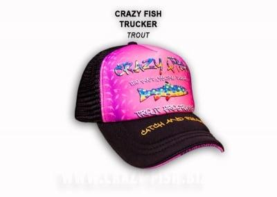 Crazy Fish Cap Fish Trout Шапка