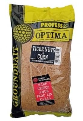 Profess Optima Tigernuts Corn Захранка Тигров Фъстък и Царевица
