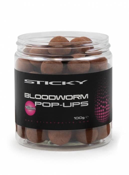 Sticky Baits Bloodworm Pop Ups 100 гр Плуващи топчета