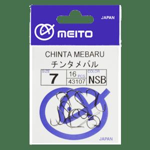 Meito Hooks Chinta Mebaru NS Единична Кука