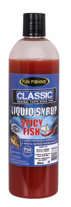 Fun fishing Liquid Syrup Spicy Fish 500ml Ликуид