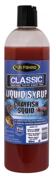 Fun Fishing Liquid Syrup Crayfish Squid 500ml Ликуид
