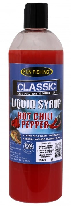 Fun Fishing Liquid Syrup Hot Chili Pepper 500ml Ликуид