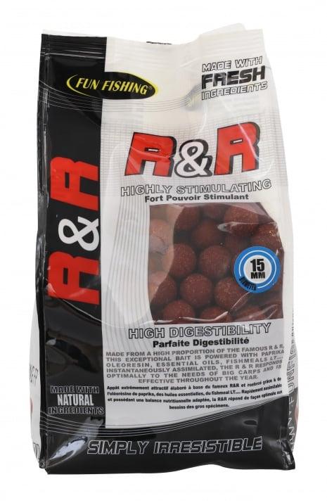 Fun Fishing Robin Red Boilies 1kg Протеинови топчета