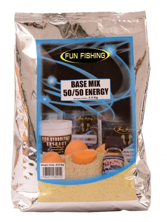 Fun Fishing Base 50/50 Mix 2.5kg.Микс