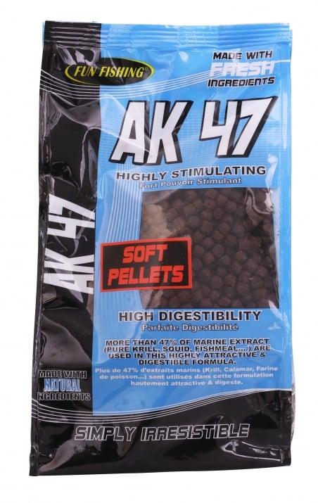 Fun Fishing Soft Pellets AK 47 Меки пелети 5mm 700g