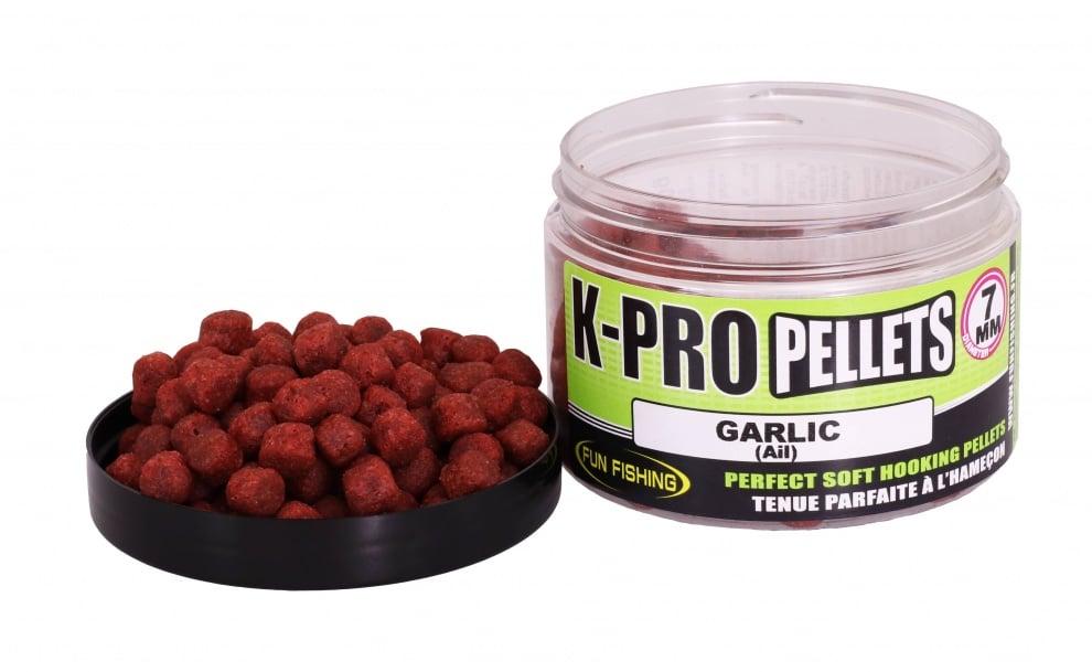 Fun Fishing K-Pro Pellets Меки пелети 7мм Garlic