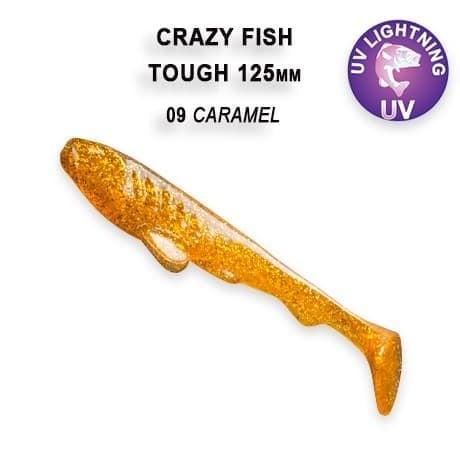 Crazy Fish Tough 12.5 см Силиконова примамка 09 Caramel