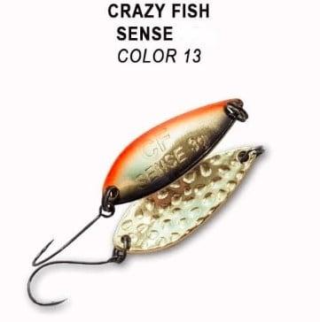 Crazy Fish Sense 11гр. Клатушка Цвят 13