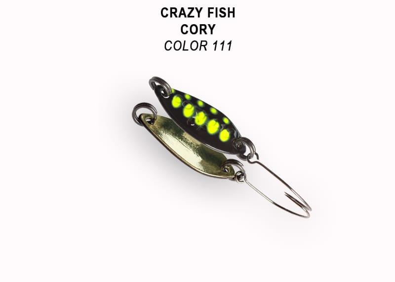 Crazy Fish Cory 1.1гр. Клатушка Цвят 111