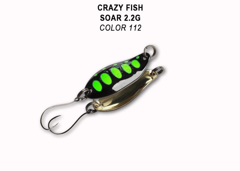 Crazy Fish Soar 2.2гр. Клатушка Цвят 112