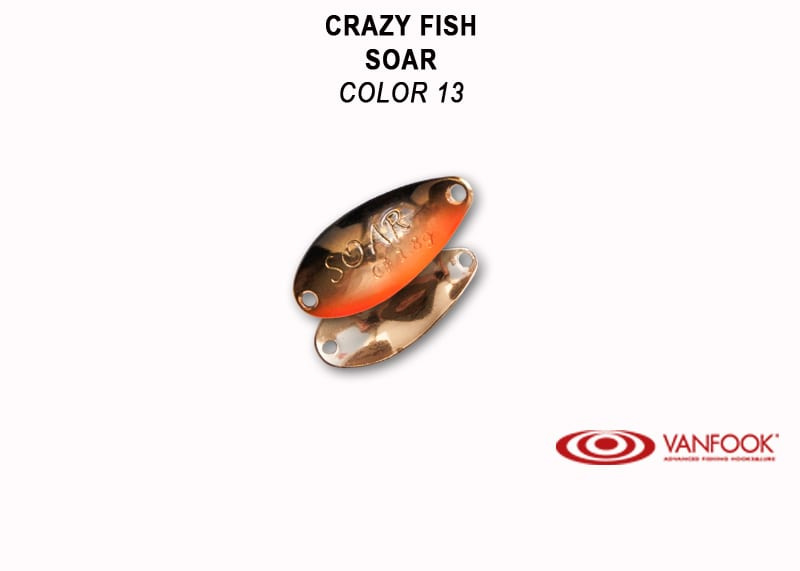 Crazy Fish Soar 2.2гр. Клатушка Цвят 13