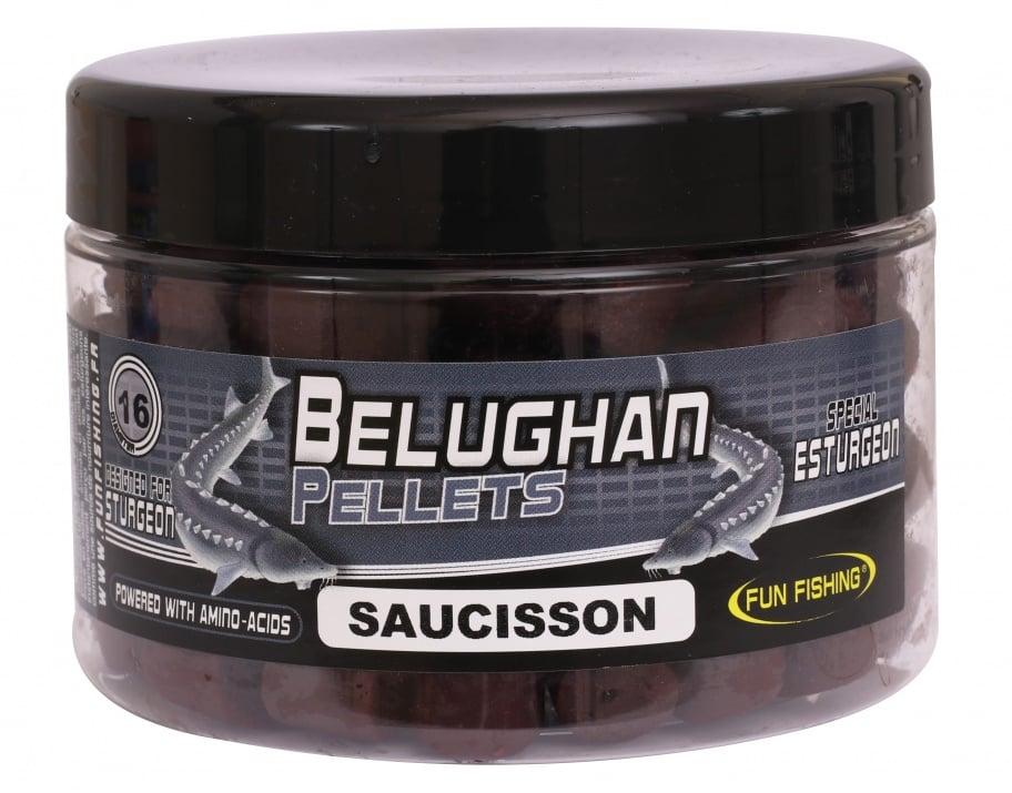 Fun Fishing Belughan Boilies Saucisson 15mm 300g Топчета за Есетра