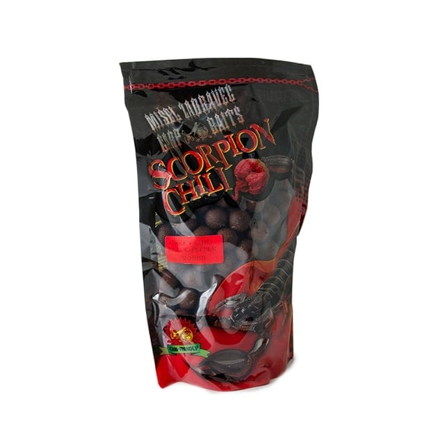Misel Zadravec Boilies Scorpion Green Chili Black Pepper Протеинови Топчета 1кг. 24mm