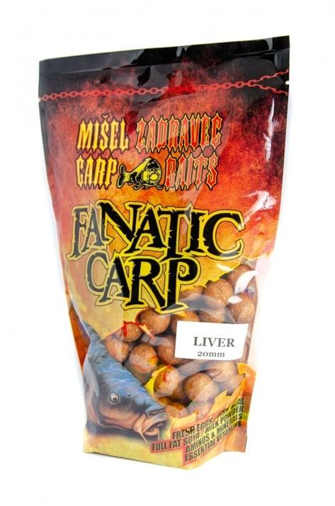 Misel Zadravec Boilies Fatatic Carp Liver Протеинови топчета 0.800кг. 20mm
