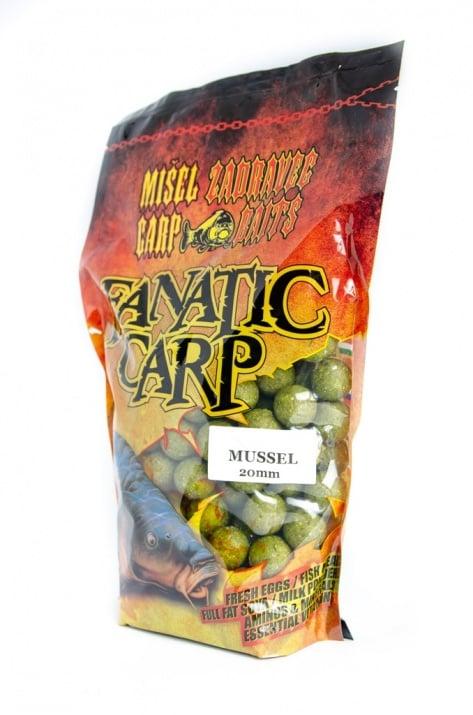 Misel Zadravec Boilies Fatatic Carp Mussel Протеинови топчета 0.800кг. 20mm