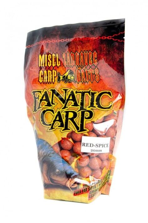Misel Zadravec Boilies Fatatic Carp Red Spice Протеинови топчета 0.800кг.