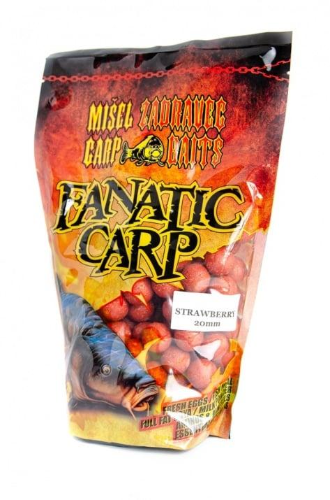 Misel Zadravec Boilies Fatatic Carp Strawberry Протеинови топчета 0.800кг.