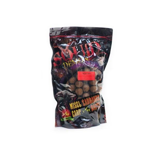 Misel Zadravec Boilies Squid Demon Mango Протеинови топчета 1кг. 20mm