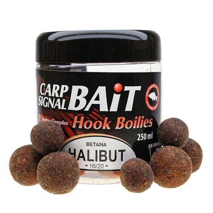 Profess Carp Boilies Signal Bait 16/20мм 250мл. Протеинови топчета Халибут