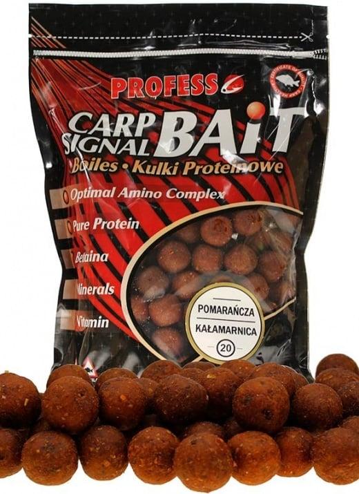 Profess Boilies Carp Signal 20мм Протеинови топчета 750g Сладък Портокал