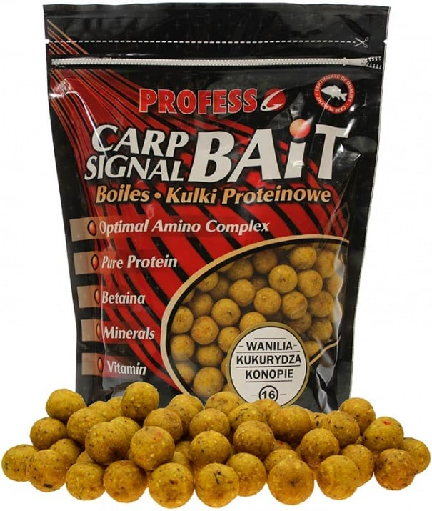 Profess Boilies Carp Signal 20мм Протеинови топчета 750g