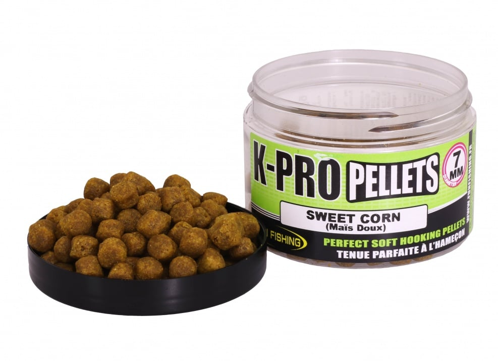 Fun Fishing K-Pro Pellets Меки пелети 7мм Sweet Corn
